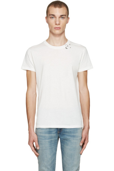 Saint Laurent - Off-White Constellation T-Shirt