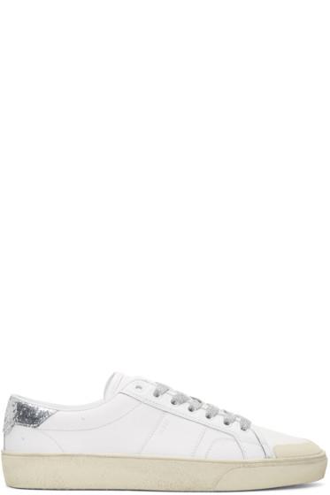 Saint Laurent - Off-White SL/37 Court Classic Sneakers