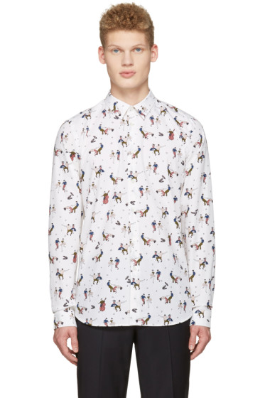 PS by Paul Smith - Cream Dancers Shirt