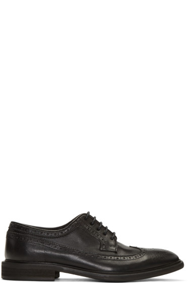PS by Paul Smith - Black Leather Mallow Brogues