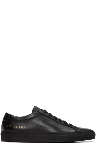 Woman by Common Projects - Black Original Achilles Sneakers