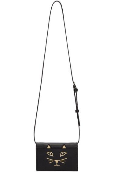 Charlotte Olympia - Black Feline Bag