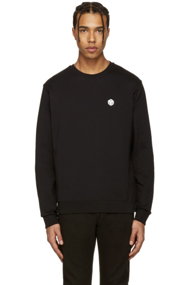MSGM - Black Dice Patch Pullover