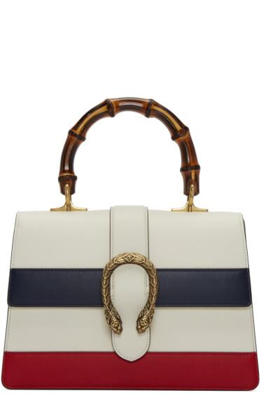 Gucci - White Medium Dionysus Bag