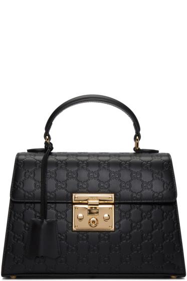 Gucci - Black Small GG Lady Padlock Bag