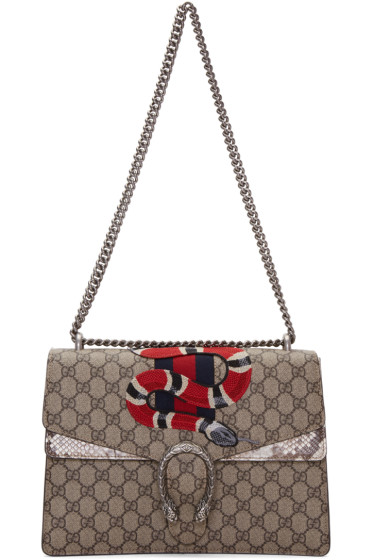 Gucci - Brown Large Dionysus Bag