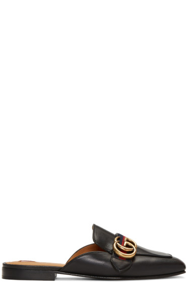 Gucci - Black Peyton Slip-On Loafers