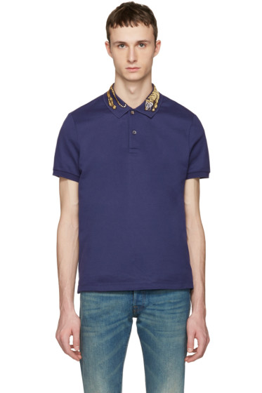 Gucci - Navy Tiger Polo