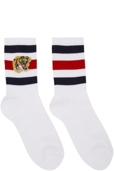Gucci - White Tiger Socks