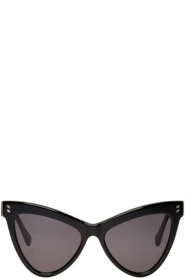 Stella McCartney - Black Cat Eye Sunglasses