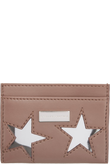 Stella McCartney - Pink Star Card Holder