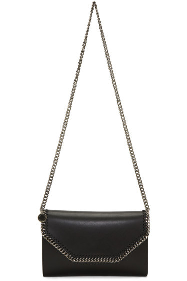 Stella McCartney - Black Falabella Chain Clutch