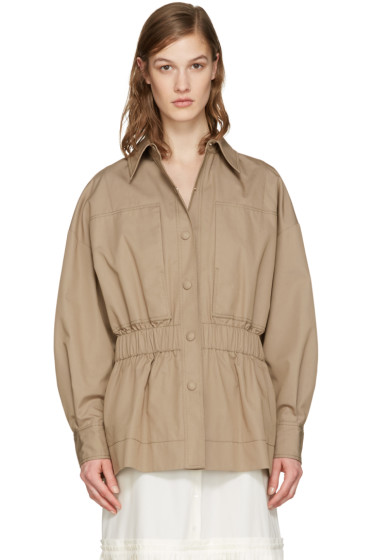 Stella McCartney - Beige Shea Jacket