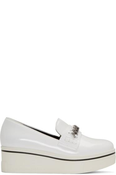 Stella McCartney - White Binx Loafers