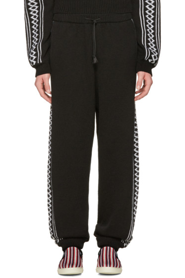 Stella McCartney - Black Rustic Sportswear Lounge Pants