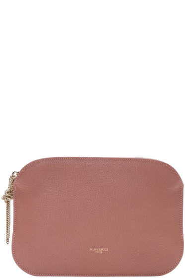 Nina Ricci - Pink Leather Elide Pouch
