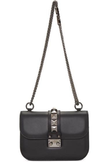 Valentino - Black Small Noir Lock Bag