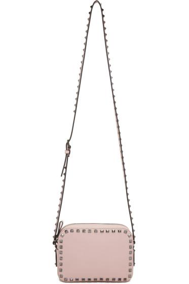 Valentino - Pink Rockstud Camera Bag