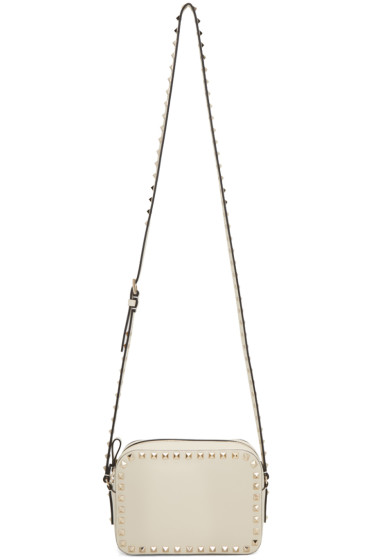 Valentino - Ivory Rockstud Camera Bag