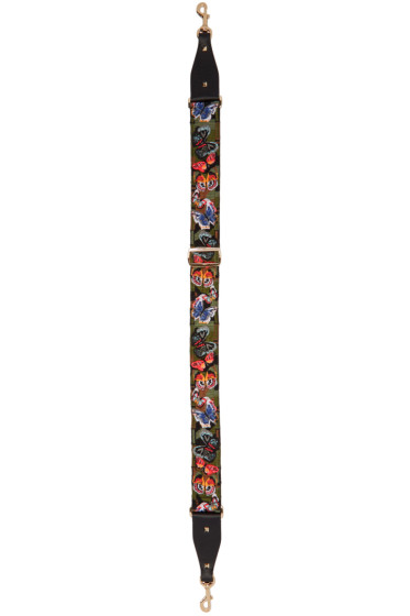 Valentino - Multicolor Camo Butterfly Shoulder Strap
