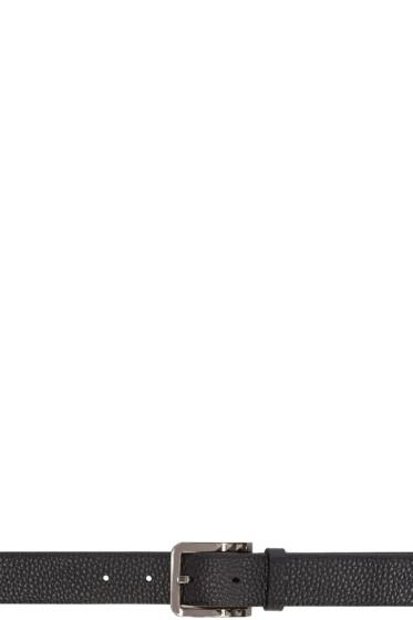 Valentino - Black Mini Rockstud Buckle Belt