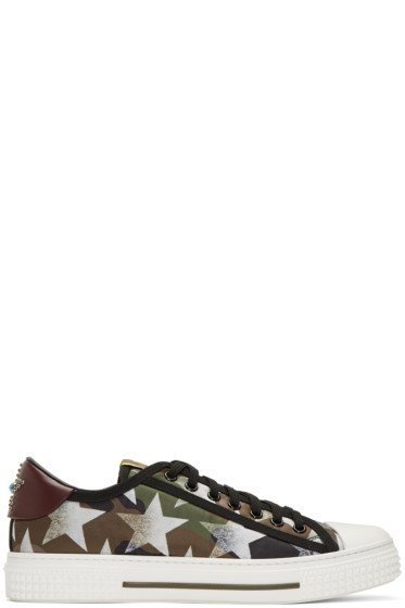 Valentino - Green All Rock Sneakers