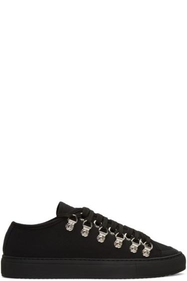 J.W.Anderson - Black Canvas Sneakers
