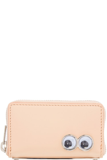 Sophie Hulme - Pink Mini Rosebery Coin Pouch