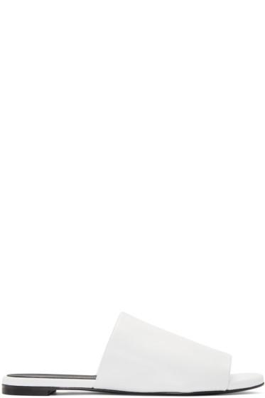 Robert Clergerie - White Gatom Sandals