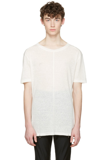 D.Gnak by Kang.D - White Rings T-Shirt