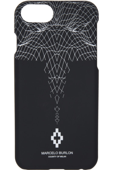 Marcelo Burlon County of Milan - Black Sebastian iPhone 7 Case