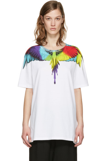 Marcelo Burlon County of Milan - White Nicolas T-Shirt