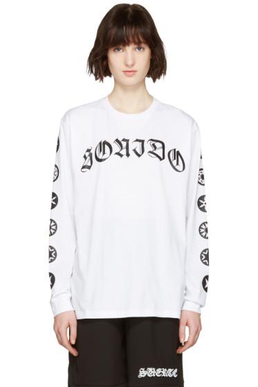 Marcelo Burlon County of Milan - White Oscar Long Sleeve T-Shirt