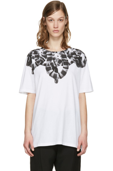 Marcelo Burlon County of Milan - White Olimpia T-Shirt