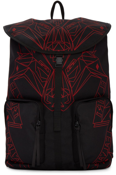 Marcelo Burlon County of Milan - Black Lamborghini Backpack