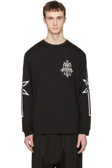 Marcelo Burlon County of Milan - Black Pablo T-Shirt