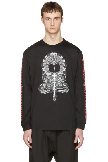 Marcelo Burlon County of Milan - Black Miguel T-Shirt