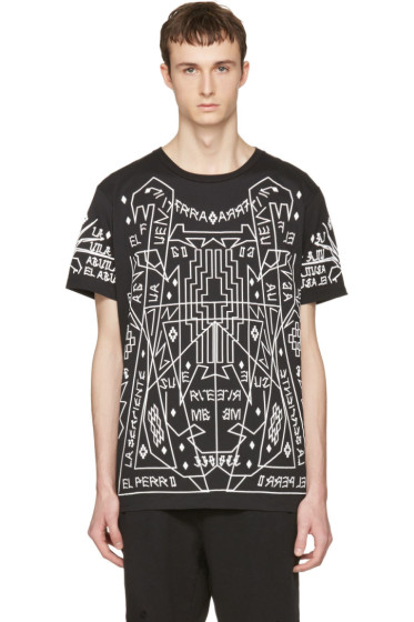 Marcelo Burlon County of Milan - Black Salomon T-Shirt