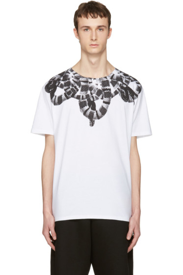 Marcelo Burlon County of Milan - White Leonardo T-Shirt