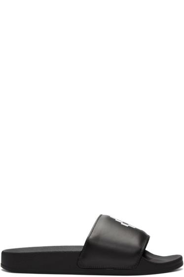 Marcelo Burlon County of Milan - Black Giulia Sandals