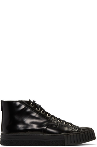 Adieu - Black Type W.O. High-Top Sneakers