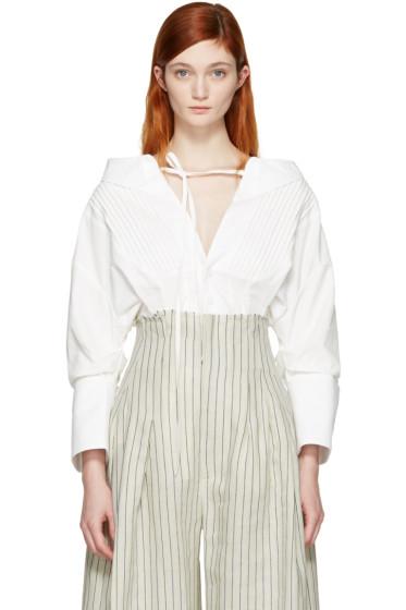 Jacquemus - White 'La Chemise Arlesienne' Shirt