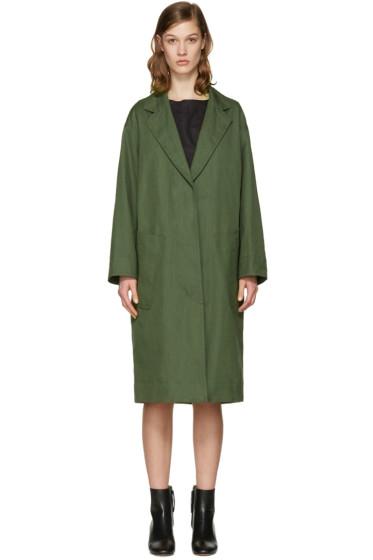 Isabel Marant Etoile - Green Idony Coat