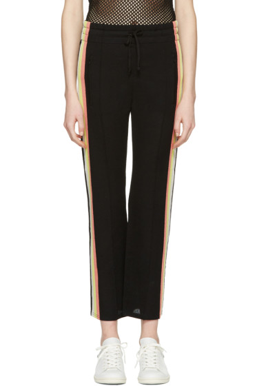Isabel Marant Etoile - Black Side Stripe Dobbs Lounge Pants
