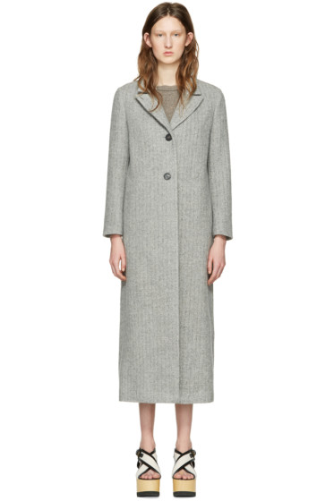Isabel Marant - Grey Long Duard K Coat