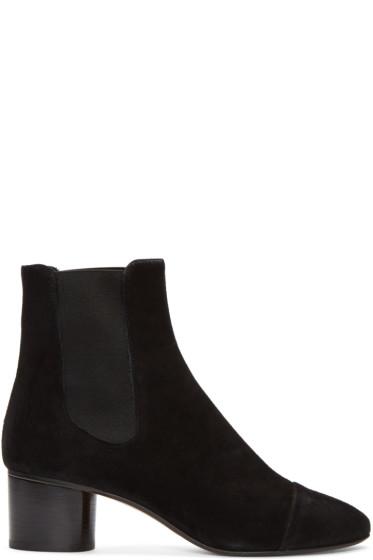 Isabel Marant - Black Suede Danae Boots