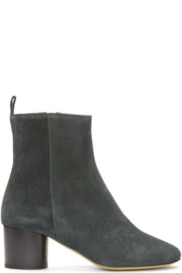 Isabel Marant - Grey Suede Deyissa Boots