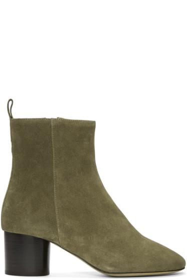 Isabel Marant - Brown Suede Deyissa Boots
