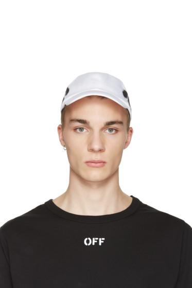 Off-White - White Diagonal Spray Cap