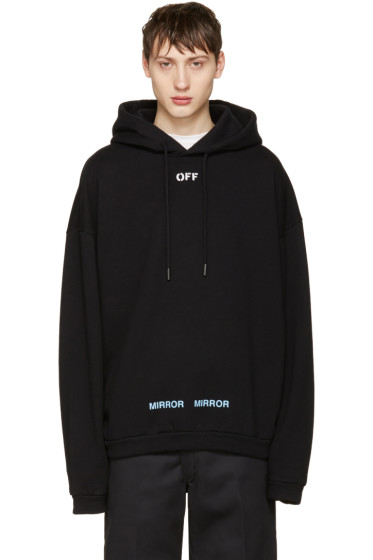 Off-White - Black Care 'Off' Hoodie